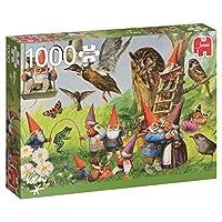 1000ピース ジグソーパズル Jumbo 森の中の妖精 In the Forest with the Gnomes 49×68cm 18322