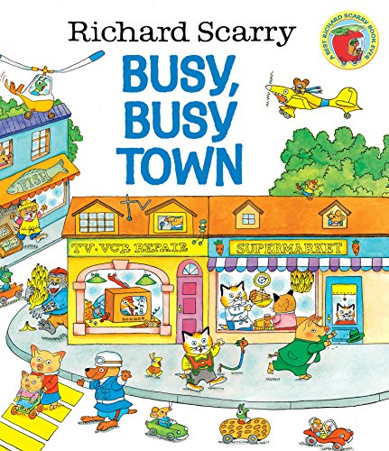 Richard Scarry's Busy, Busy Town (Golden Look-look Book)の詳細を見る