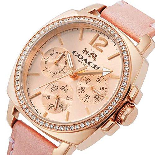 (コーチ) COACH コーチ 時計 レディース COACH 14502235 BOYFRIEND SMALL ボーイフレンドスモール 腕時計 ウォッチ ローズゴールド/ピンク[並行輸入品]