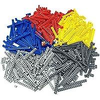 LEGO レゴ テクニック 互換 ブロック 10サイズ 5色 大量詰め合わせ 500g