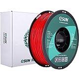 eSUN PLAプラス 3Dプリンターフィラメント、1.75 mm 3Dプリンター用 PLA+ (1KG) スプール造形材料 (クリムゾン)