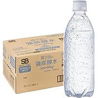 Smart Basic(スマートベーシック) [Amazon限定ブランド] 炭酸水 ラベルレス 500ml ×24本 富…