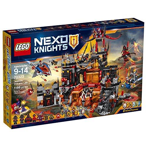 LEGO Nexo Knights 70323 Jestro's Volcano Lair Building Kit (1186 Piece) by LEGO