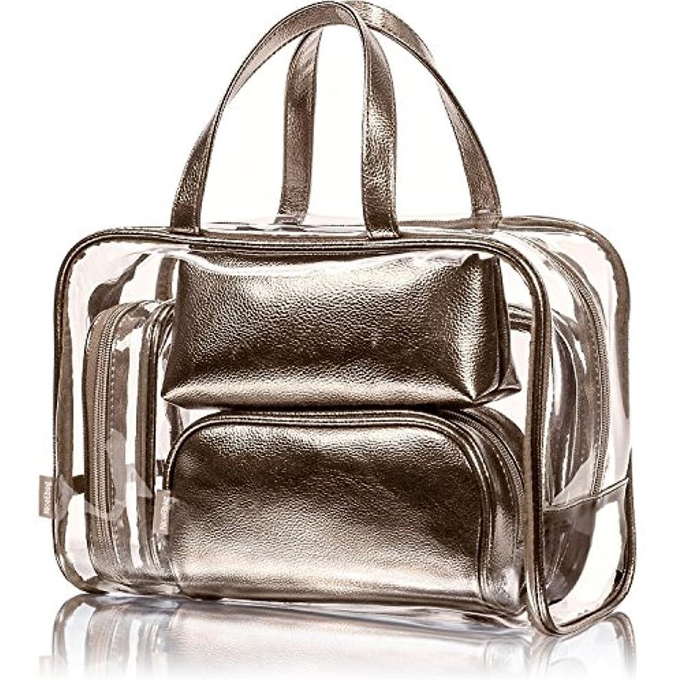 特に敏感な敏感なNiceEbag 透明バック、ビニールバッグ、化粧品バッグ、化粧ポーチ、メイクポーチ、クリアバッグ、プールバック、ハンドバッグ、トートバッグ、スタイリッシュ、オシャレ、かわいい、温泉、海、旅行 ビーチ ビジネス スパンコール...