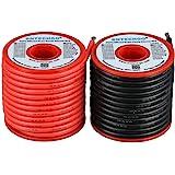BNTECHGO 12 Gauge Silicone Wire Spool 50 Feet Ultra Flexible High Temp 200 deg C 600V 12 AWG Silicone Wire 680 Strands of Tin