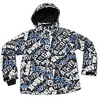 エアボーン(エアボーン) ボーイズ GRAFFITI ジャケット スノーボードウエア ABJJ-606 BLACK