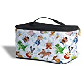 Toy Story Friends Disney Inspired Cosmetics Storage Case - Makeup Zipped Travel Bag