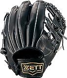 ZETT(ゼット) 少年野球 硬式 オールラウンド グラブ(グローブ) ネオステイタス (右投げ用) BPGB25610 ブラック