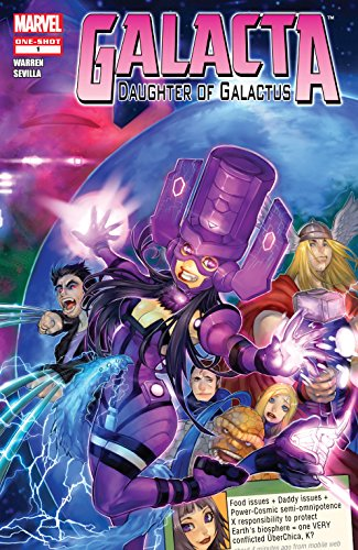 Galacta: Daughter of Galactus (2010) #1 (English Edition)