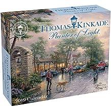 Thomas Kinkade Painter of Light 2019 Day-to-Day Calendar
