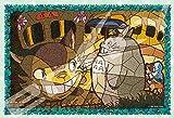 300ピース ジグソーパズル となりのトトロ ネコバス到着【アートクリスタルジグソー】(26x38cm)