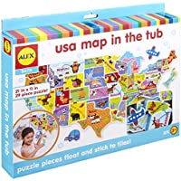 Alex Toys Rub a Dub USAマップin the Tub