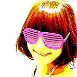 ブラインドシャッターポップサングラス・シャッターシェードタイプ13色 67-002