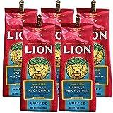 ライオンコーヒー バニラマカダミア 198g×5個(粉)