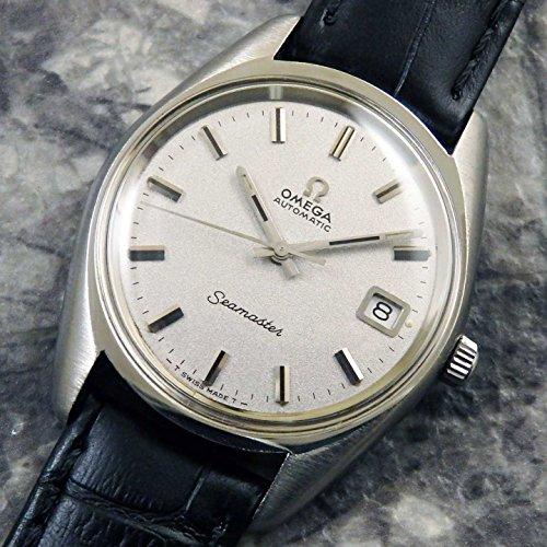 OMEGA オメガ/Seamaster シーマスター シルバーダイヤル デイト機能付き アンティーク 1970年 自動巻き時計 [並行輸入品]