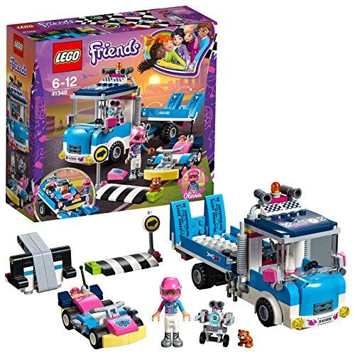 """レゴ(LEGO)フレンズ ハートレイクグランプリ """"レスキューカー"""