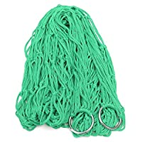 Nylon Hammock Hanging Mesh Net Sleeping Bed Camping Picnic Travel Color Grass Green by ANTS