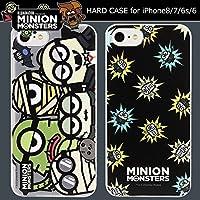 【カラー:集合】iPhone8 iPhone7 iPhone6S iPhone6 怪盗グルー ミニオンズ ハード ケース ハードケース カバー キャラクター ミニオン スチュアート ボブ ケビン かわいい スリム アイフォン8 アイフォン7 iphons8ケース iphone 8 6s 7 6 アイフォン スマホカバー スマホケース s-gd_7a354