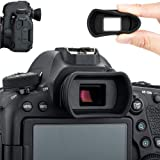 Soft Silicon Camera Viewfinder Eyecup Eyepiece Eyeshade for Canon EOS 850D 6D2 6D 5D2 5D 90D 80D 77D 70D 60D 50D 800D 1500D 7