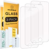 Mr.Shield-[3-Pack for iPhone SE/iPhone 5/5S / iPhone 5C [Tempered Glass] Screen Protector with Lifetime Replacement