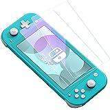 【ブルーライト95%カット】2枚入り Nintendo Switch Lite 用 保護フィルム ブルーライトカット 任天堂ニンテンドー スイッチ 日本硝子素材 強靭9H 3Dラウンドエッジ加工 撥水撥油 指紋防止 飛散防止 ピタ貼り 自己吸着 気泡