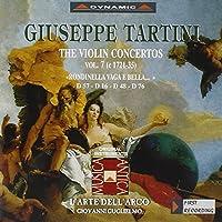 タルティーニ:ヴァイオリン協奏曲集 7 (グリエルモ/ラツァリ/ラルテ・デラルコ)