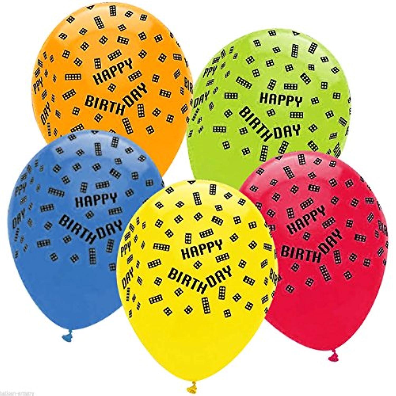 Block Party Latex Balloons