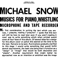 Music for Piano, Whistling, Mi [12 inch Analog]