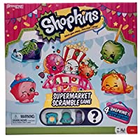 ShopkinsスーパーマーケットScramble、2nd Edition Board Game