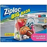Ziploc Big Bags, X-Large, 4-Count