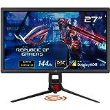 ASUS 4K DSCゲーミングモニター ROG STRIX XG27UQ 27インチ IPS 144Hz 1ms DisplayHDR400 DCI-P3 90% Adaptive Sync