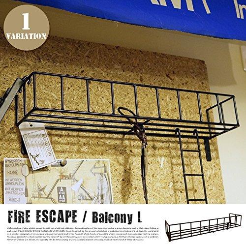 RoomClip商品情報 - ファイヤーエスケープ 【バルコニーL】 ウォールシェルフ・壁面収納・ディスプレイ