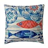 sunlightsellスタイリッシュなシンプルさ地中海スタイルコットンリネン正方形装飾ファッションスロー枕カバークッションカバー( b13)