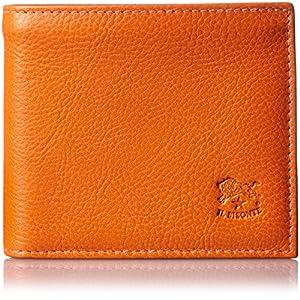[イル ビゾンテ] 二つ折り財布 レザー C0817 166 Orange [並行輸入品]