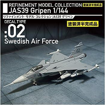 初回特典テスト機デカール 1/144 グリペン 半完成品モデル スウェーデン空軍機 Z-533