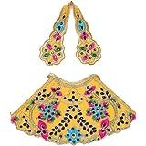 Aditri Creation Yellow Laxmi Durga Devi MATA Dress poshak vastra Cloth lehanga Chunari Puja Item for Idol Statues