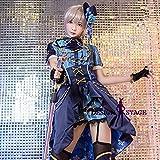 アイドルマスター シンデレラガールズ LiPPS デレステ 塩見周子 風 コスプレ衣装 コスチューム cosplay ハロウィン IM001 (L)