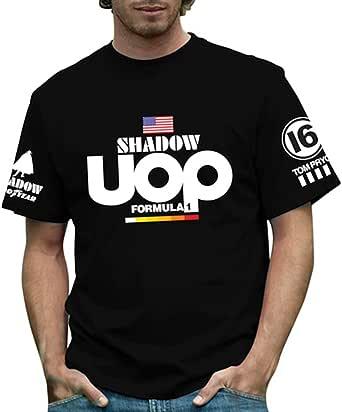 RETRO GP シャドウ・UOP メンズTシャツ Shadow UOP Formula 1 Mens T-shirt