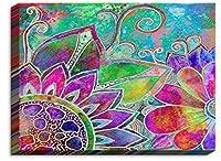 DIANOCHEキャンバス壁アートフレームとUnframedロビンby Mead Jubilant–Unique、装飾、芸術的、Designer 15 x 12 CANB-RobinMeadJubilant1