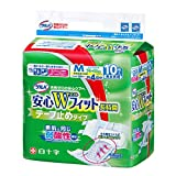 【まとめ買い】サルバ安心Wフィット テープ M 10枚入【ADL区分:寝て過ごす事が多い方】 ×4セット