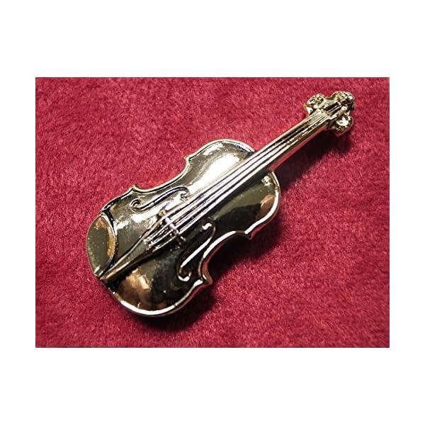 ナカノ スタンダードブローチ バイオリン ゴー...の紹介画像2