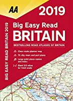 Aa Publishing 2019 Big Easy Read Britain (Aa Road Atlas Britain)