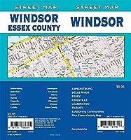 Windsor/Essex County Ontario Street Map [並行輸入品]