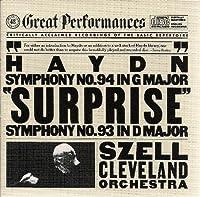 """Symphonies 93 & 94 """" Surprise """""""