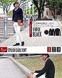 ニット メンズ カットソー セーター カシミアタッチ Vネック ニットソー 薄手 ニットセーター【q146】 スペード画像③