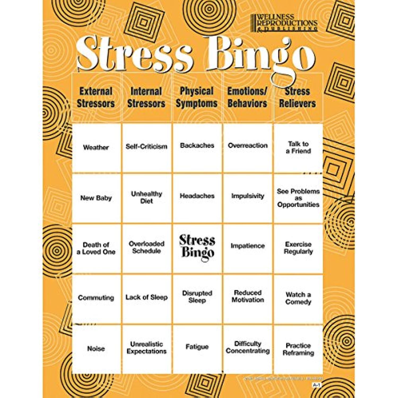 Adult Bingo Game, Stress