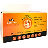 Hot Hand Warmers 10 Hours - 80 Count - Long Lasting Natural Safe and Odorless Single Use Air Activated Heat Packs for Hands,