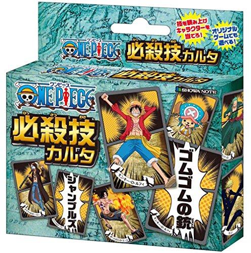 [해외]원피스 필살기 카르타/One Piece Special Moves Skill