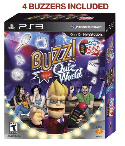 Buzz! Quiz World Bundle (輸入版) - PS3