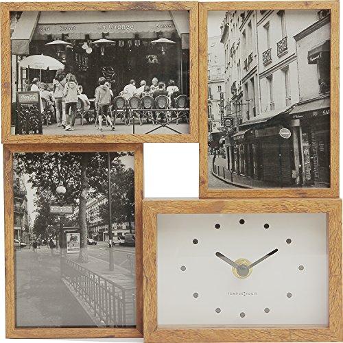 マグネット 写真たて・フォトフレーム ブラウン 4.8 ×24.0 ×24.0 cm 2452